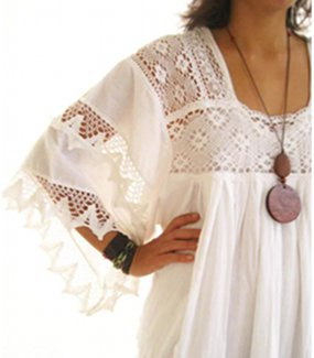 Hippie Mexican Wedding Dress