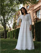 Huipil Mexican Wedding Dress 01