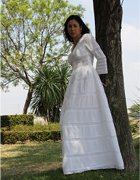 Huipil Mexican Wedding Dress 02