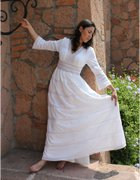 Huipil Mexican Wedding Dress 03