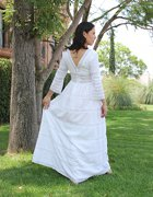 Huipil Mexican Wedding Dress 04
