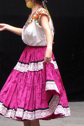 Typical Mexican Dress