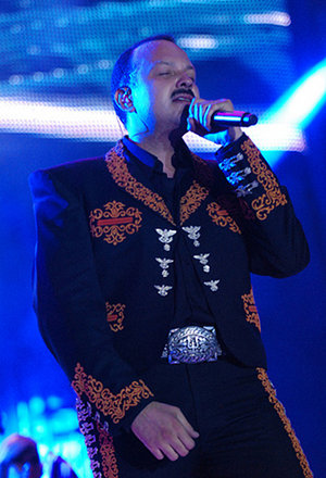 Dressed in his $1,300 Tello suit, Mariachi Francisco Leyva says, I look gooood