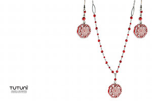 Red Fashion Jewelry Set