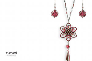 Pink Fashion Jewelry Set