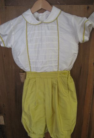 Two Pieces Christening Gown