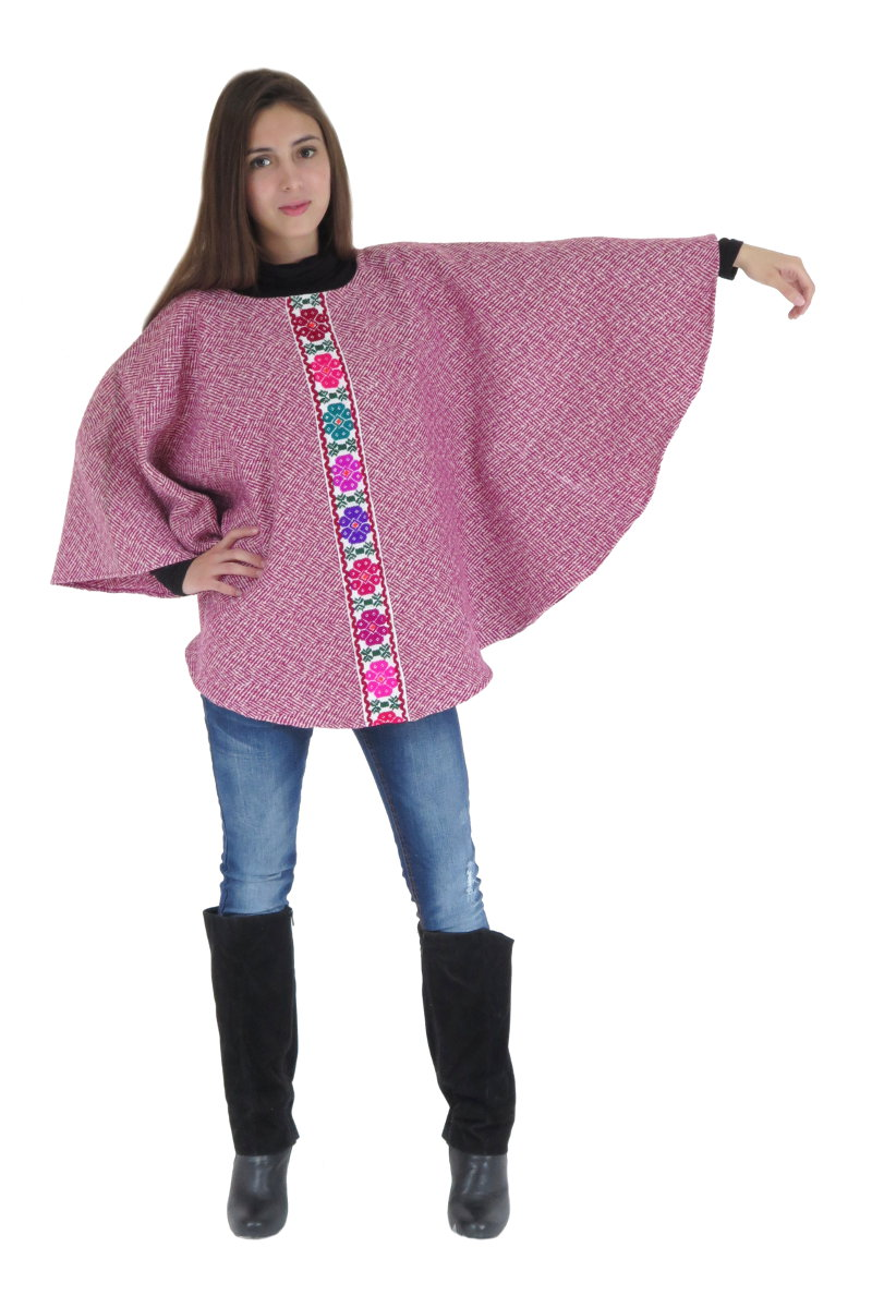 Modern Mexican Poncho