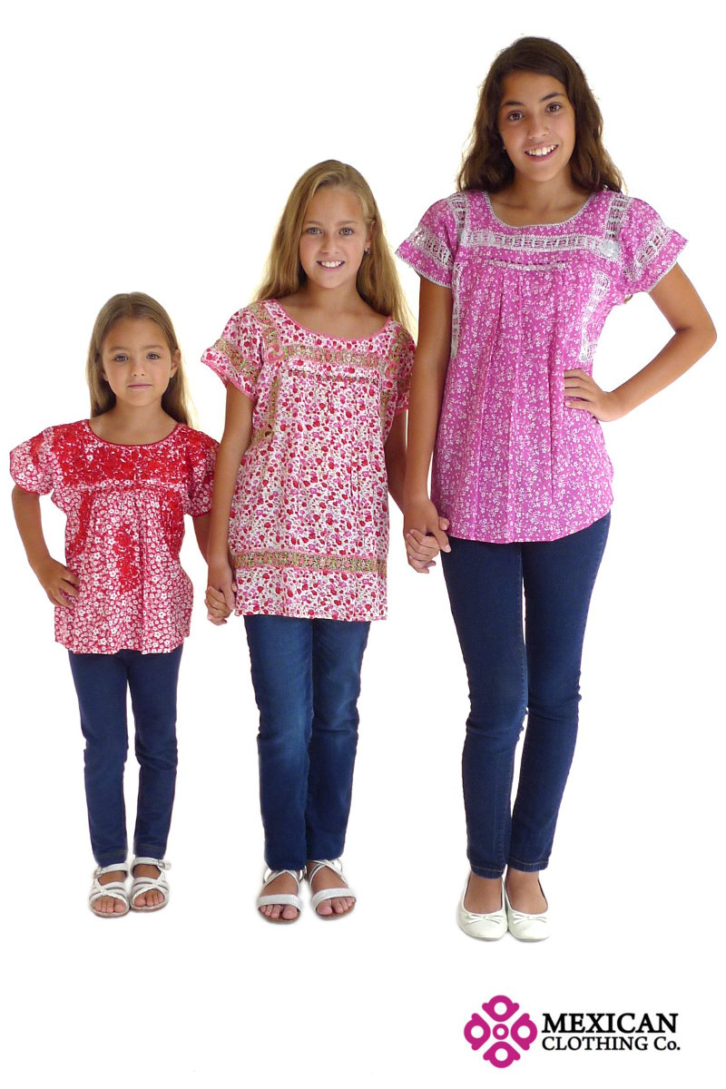 Girls Mexican Traditional Clothing