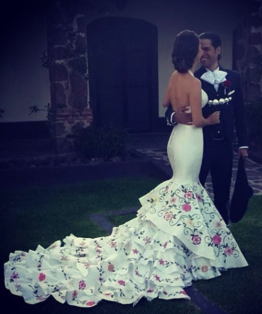 Ana Patricia Wedding Dress Jalisco Style