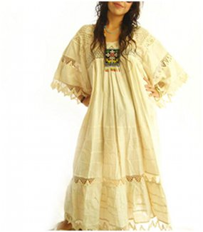 Hippie Relaxed Wedding Dress