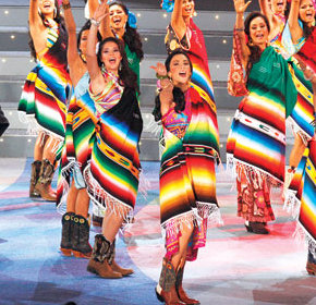 Mexican Serape Miss Mexico