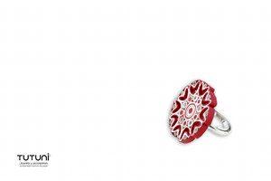 Red Paper Filgree Jewelry