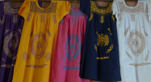 Mexican Peasant Dresses
