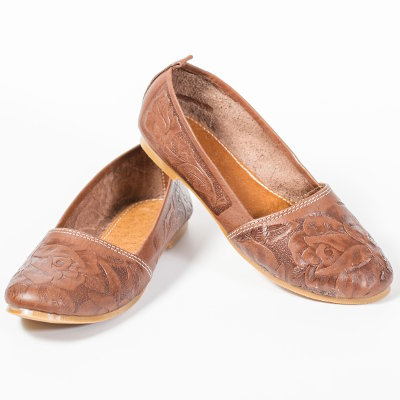 Women's Mexican Leather Shoes