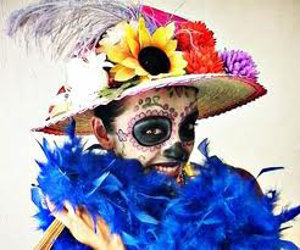 Day of the Death Catrina Hat