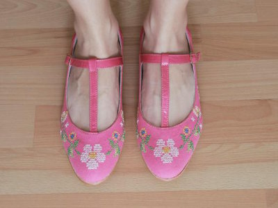 Mexican Embroidered Flats