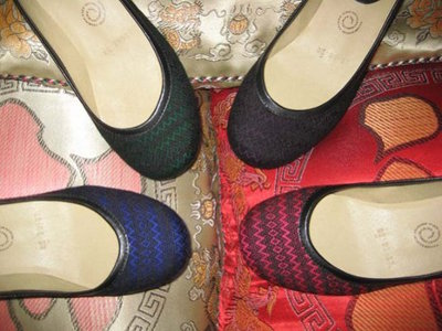 Mexican Rebozo Flat Shoes