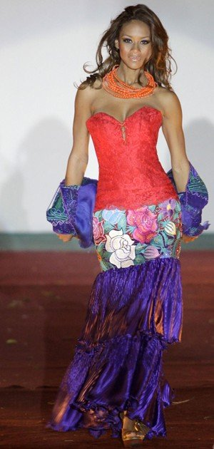 Mexican Haute Couture Dress