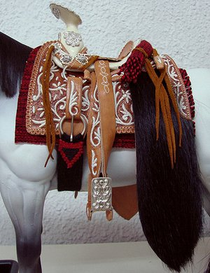 Original Mexican Saddle