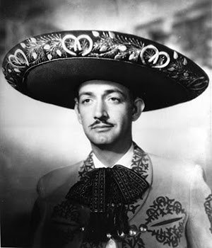 Jorge Negrete with a Traditional Charro Outfit