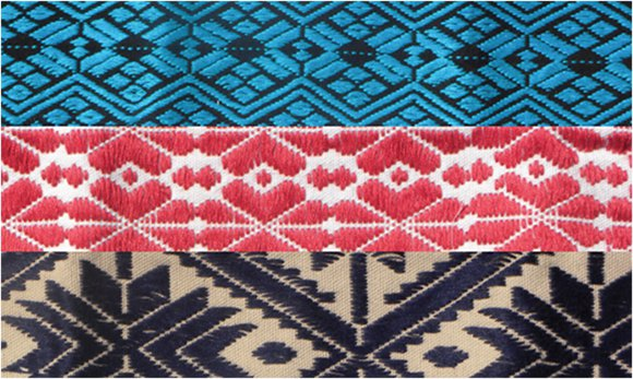 Embroidered Traditional Mexican Patterns