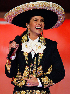 Lucero with a Charro Outfit